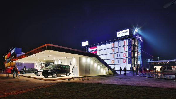 Volkswagen Group Russland Pavillon, Sotschi