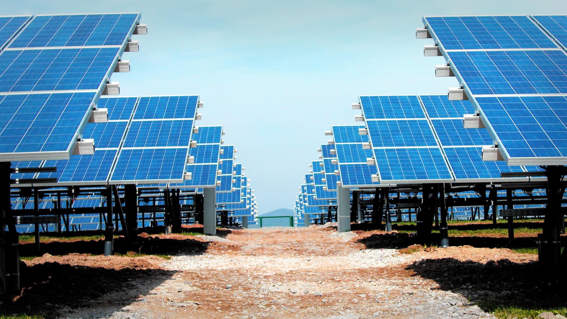 Tragstrukturen von Photovoltaikanlagen