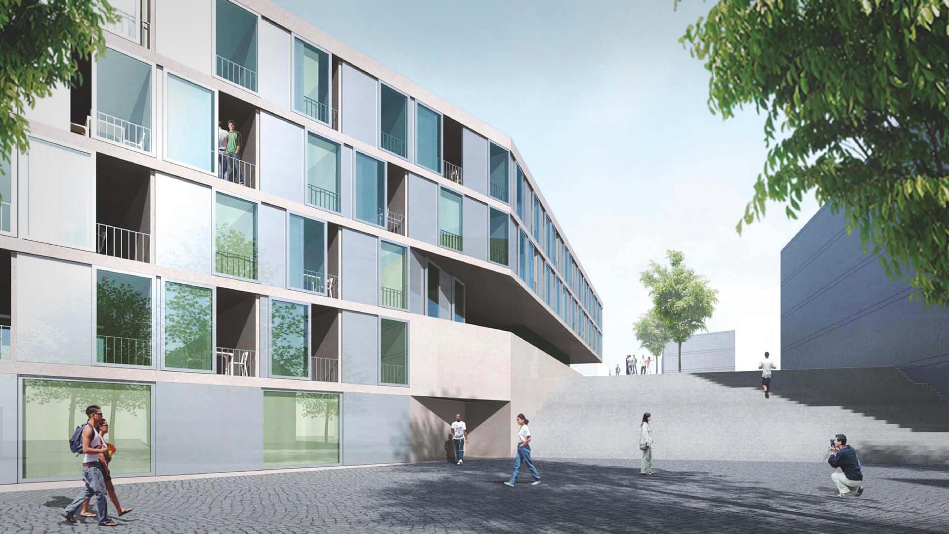 Studentenwohnheim mit Kita, Campus Nord in Kassel
