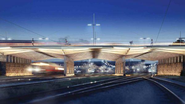 Rheinstraßenbrücke Darmstadt